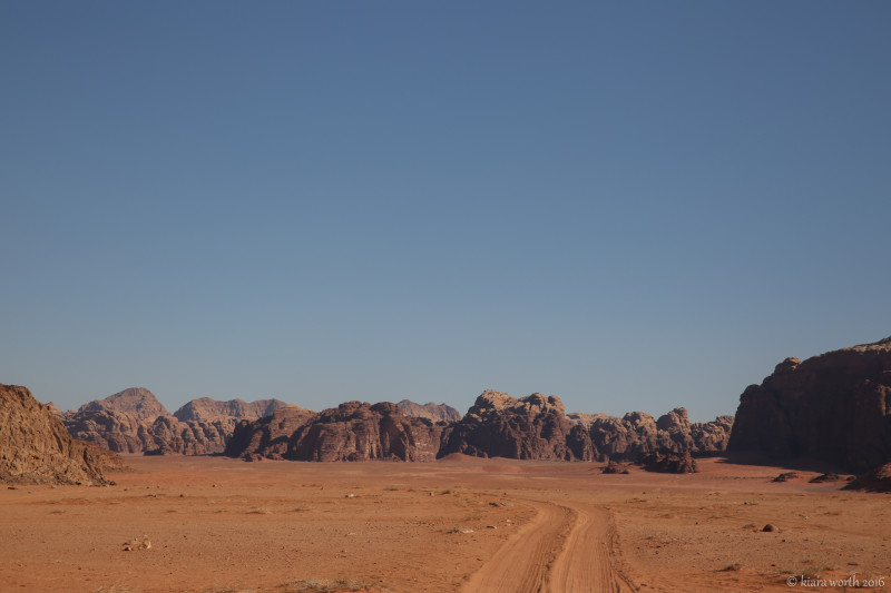 It's other-worldly feel has made Wadi Rum the location of numerous films including Lawrence of Arabia and the Martian.